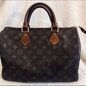 Authentic Louis Vuitton Speedy 30 Vintage